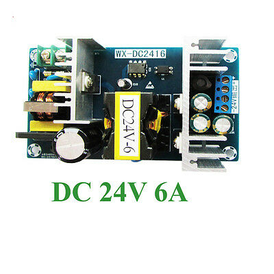 150W Inverter 220V 230V AC 100-265V to DC 24V 6A Switching Power Supply Adaptor