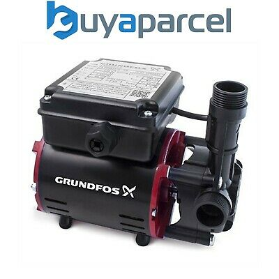 Grundfos SSR2-2.0 C Niagara 2.0 Bar Single Impeller Regenerative Shower Pump