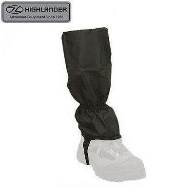 Highlander Classic Lightweight Waterproof Walking Gaiters – Mens Womens Kids