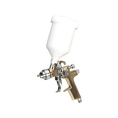 S701G Sealey Professional Gravity Feed Fed Gold Compressor Paint Spray Gun 1.4mm