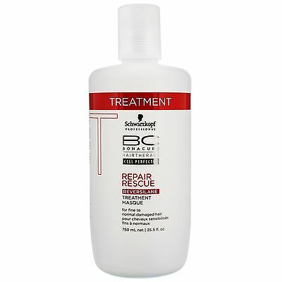 Schwarzkopf BC Bonacure Repair Rescue Treatment 750ml for her BRAND NEW