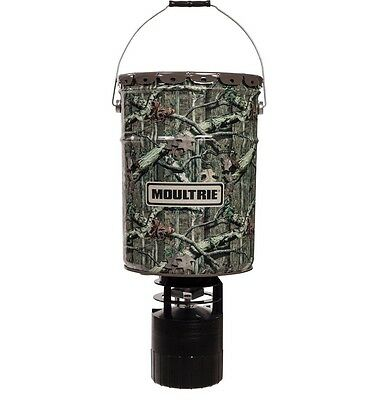 New Moultrie 6.5 Gallon Pro-Hunter Hanging Deer Feeder Infinity Camo MFH-13058