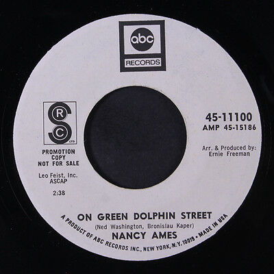NANCY AMES: On Green Dolphin Street 45 (dj) Soul