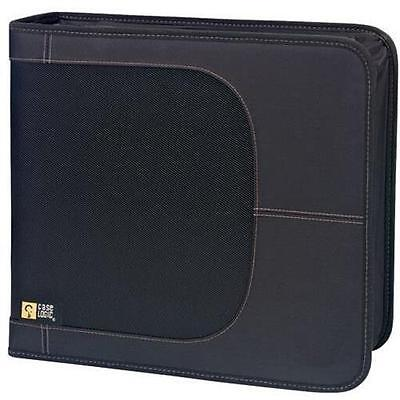Case Logic CDW-320 BLACK 320 Capacity CD Wallet - Slide Insert - Nylon - Black