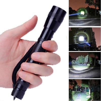 Super Power Clip CREE XPE-R3 LED 1200LM Lamp Penlight Flashlight Torch Light AA