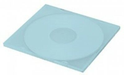 (SAMPLE) - 1 SLIM Blue Color Single VCD PP Poly Cases 5MM