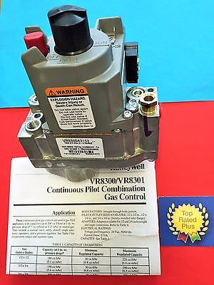 Honeywell VR8300A 3153 replace VR8300M 4406 Standing Pilot Gas Valve Natural Gas