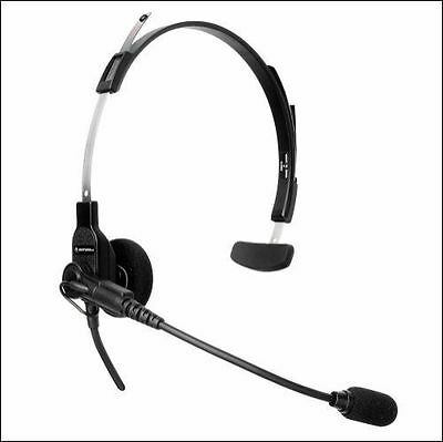 Motorola 53865 Headset with boom mic for CLS1410 RDU2020 DTR550 Two Way Radios