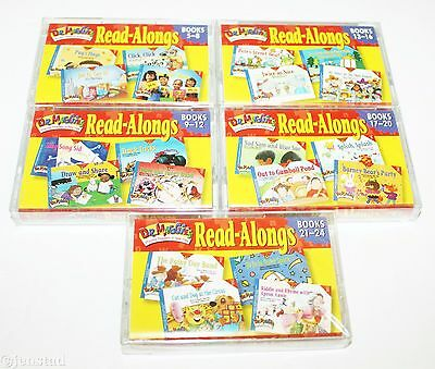 5 Lot Dr Maggie's Childrens Read Alongs Audio Books 5-24 Cassette Tape New 2000