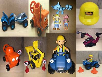 Bob the Builder Vehicle & Toy Figures Talking Friction Wheels