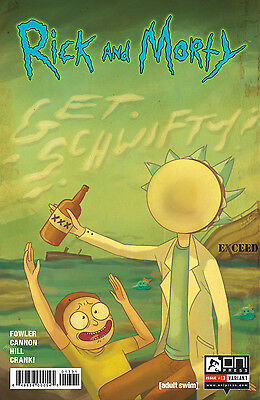 Rick and Morty #13 Exceed Exclusives Variant 1500 Oni Press Comic  ex1