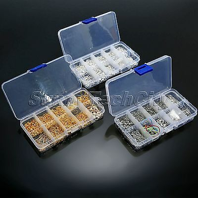 Jewelry Making Tools Kits Ball Head Pins Lobster Clasps Chain Beads DIY Supplies