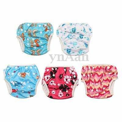 Cute Baby Swim Diaper Nappy Pants Adjuatable Reusable Infant Boy Girl Toddler