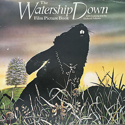 The Watership Down 1978 Film Book Colour Picture Prints 24x20cm