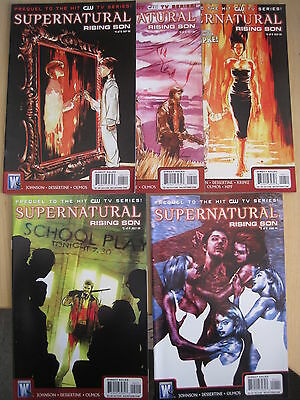 SUPERNATURAL : RISING SON #s 1,2,4,5,6 (of 6). PREQUEL TO THE TV SERIES. 2010