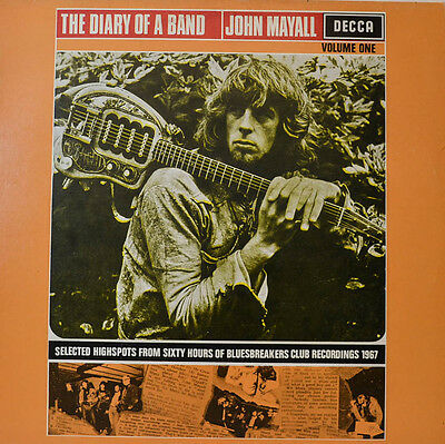 """John Mayall - The Diary Of A Band 12"""" Lp (W 619)"""