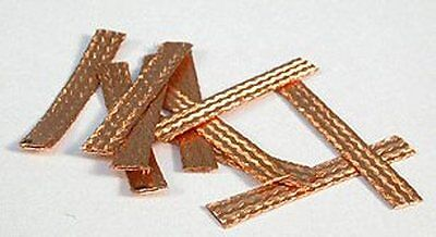 Nsr Tuning Spares Ultra Soft Braids 0.2Mm Copper 2 Packs - 20 Braids New 4822