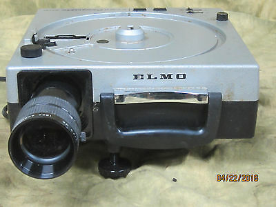 Elmo Omnigraphic 300AF 35mm Slide Projector used and working