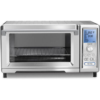 Cuisinart TOB-260N 1875-watts Chef's Toaster Convection Oven, Silver
