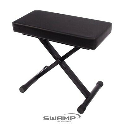 Strong Piano Stool / Keyboard Bench - Heavy Duty, Luxury Size