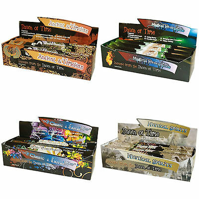 Ancient Wisdom DAWN OF TIME  Incense Sticks (20 per Box) 24 Fragrances available