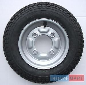 Trailer spare wheel and tyre 3.50 x 8 for Maypole MP711 and MP6810