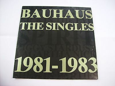 Bauhaus -  The Singles 1981/1983 - Lp Vinyl Excellent Condition 1983