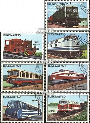 burkina faso 1043-1049 neuf 1985 Locomotives