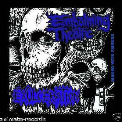 Embalming Theatre / Exulceration - buried with friends, CD, Neuware, NEW, sealed