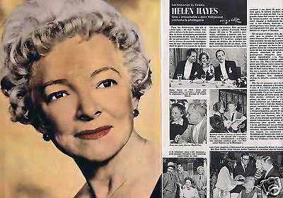Coupure de presse Clipping 1980 Helen Hayes  (4 pages)