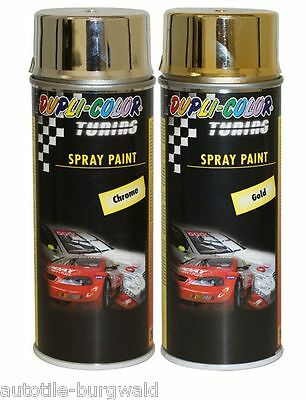 400ml Dupli Color Tuning Spray Paint Effect Chrome 237966 Hochgl. Effektspray