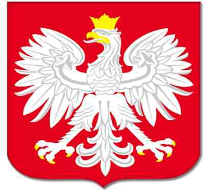 sticker stickers decal vinyl decals national flag car POLAND polska polish AIGLE