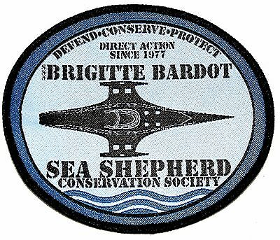 Official Sea Shepherd Brigitte Bardot Ship's Patch