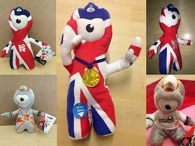 Summer London Olympic 2012 Soft Toys & Figures Souvenirs Wenlock