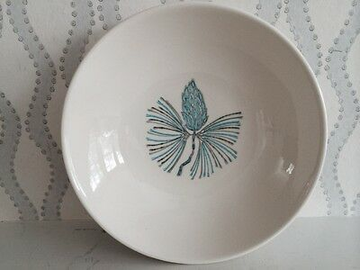 Marcrest Berry Dish 1950's Automic Blue Spruce Pine Cone