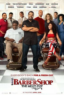 Barbershop Next Cut - original DS movie poster - 27x40 D/S Adv - Ice Cube