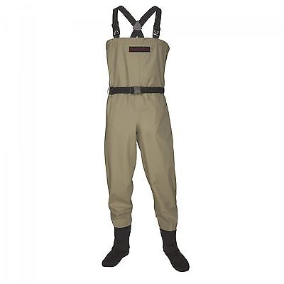 Size Large New Redington Crosswater Stockingfoot Breathable Fly Fishing Waders