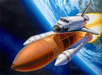 Revell Space Shuttle Discovery & Booster Rockets 1:144 Revell 04736  X