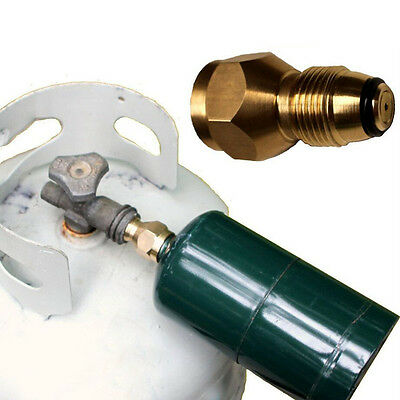 Propane Refill Adapter to Refill 1 LB Cylinders from 20-40 LB Tank