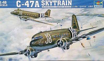 TRUMPETER® 02828 US Air Force C-47A Skytrain in 1:48