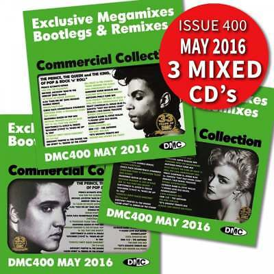 DMC Commercial Collection 400 Mixes & Megamix DJ Triple CD Special 400th Edition