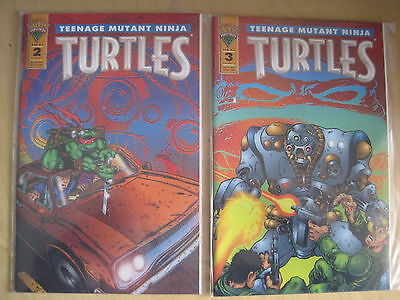 TEENAGE MUTANT NINJA TURTLES Vol 2 #s 2,3. EASTMAN & LAIRD. MIRAGE.1993, 1994