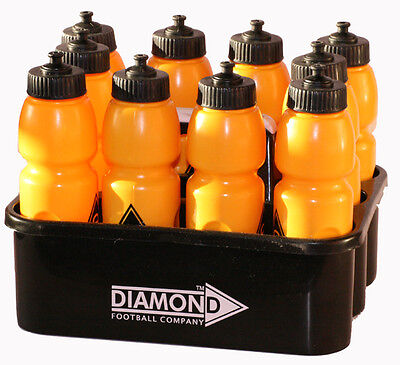 Heavy Duty Sports Plastic 10 or 8 Water Bottle Carrier Set Football Hydrate Cage
