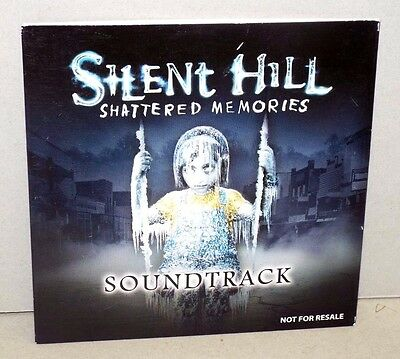 SILENT HILL SHATTERED MEMORIES Video Game Soundtrack (CD, 2009, Rare, Used)