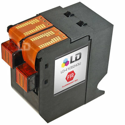 LD IJINK3456H Fluorescent Red Ink Cartridge for NeoPost Printer