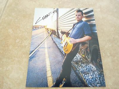 Chase Bryant Sexy Country Signed Autographed 8x10 Music Photo PSA Guaranteed #1