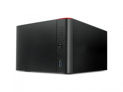 LS441D0404-EU BUFFALO LinkStation 441D - NAS server - 4 TB - SATA 3Gb/s - HDD 1