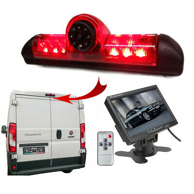 Peugeot Boxer Van 2006 - 2018 Reversing Camera Kit With Integrated Brake Light