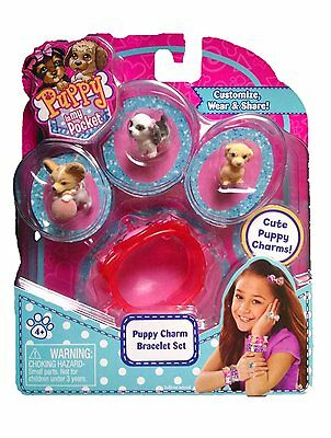 Puppy In My Pocket Charm Jewellery Pack (Assorted Styles, One Supplied)- New