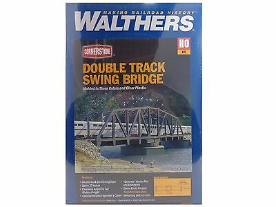 HO Double Swing Bridge Structure Kit - Walthers Cornerstone #933-3088